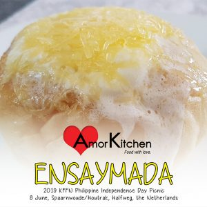 Amor Kitchen Ensaymada