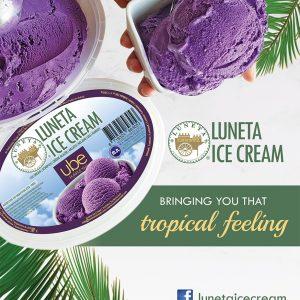 Luneta Ice Cream Flyer